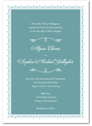 Wedding Invitations The First Impression Of Your