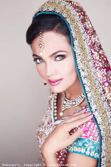 pakistani wedding makeup. Pakistani Bridal Makeup